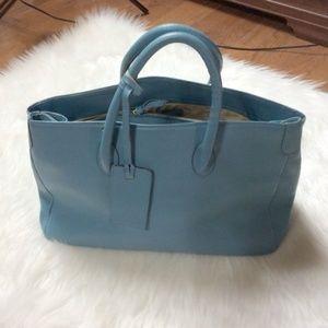 Suarez XXI Secola Large Turquoise Bag
